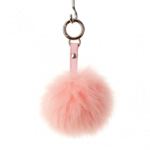 Baby Pink Key Ring Bag Fob