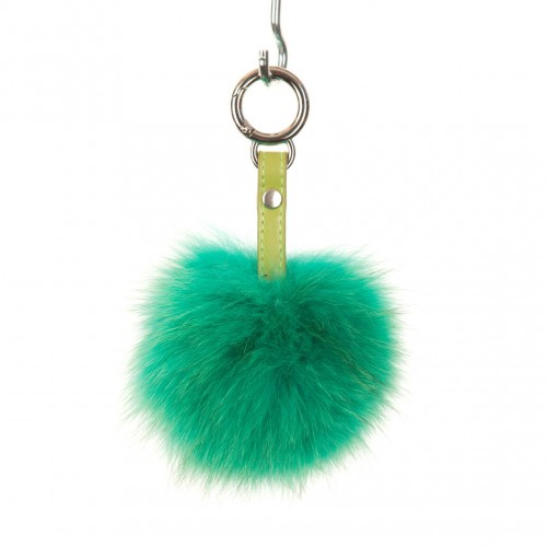 Green Key Ring Bag Fob