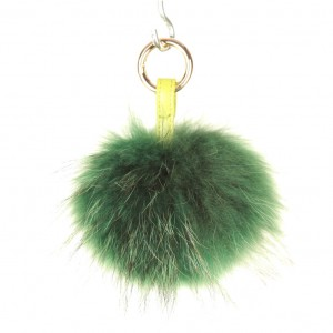 Xlarge Forest Green Key Ring Bag Fob