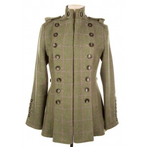 Libertine Jacket: Hulme Tweed
