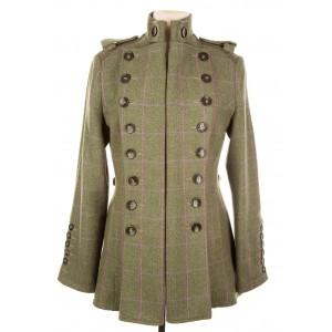 Libertine Jacket: Hulme Tweed