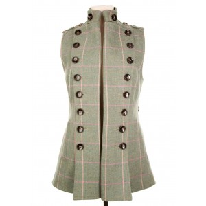 Long Libertine Waistcoat: Fairfield Tweed