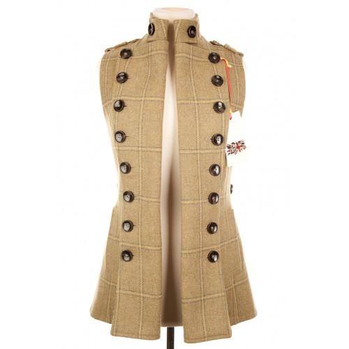 Long Libertine Waistcoat: Gorton Tweed