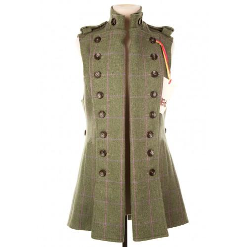 Long Libertine Waistcoat: Hulme Tweed