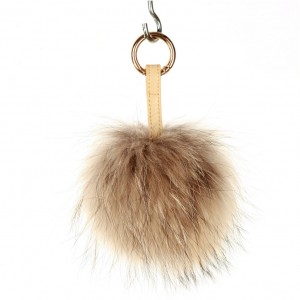 Xlarge Natural Key Ring Bag Fob