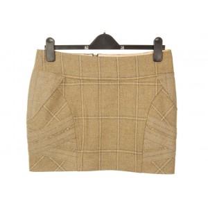 Panel Strap Mini Skirt: Gorton