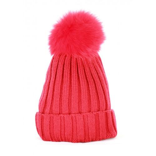 Red Plain Hat
