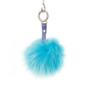 Turquoise Key Ring Bag Fob
