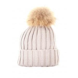 Light Grey Plain Hat